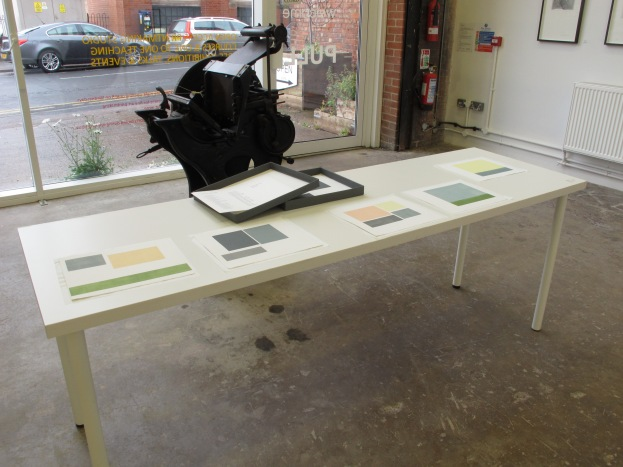Where are we now? (Long Journey Back), Mixed Media, Installation,  Antiphony: A call and response, Leicester Print Workshop